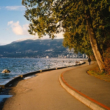 Vancouver Seawall - personal goals and grit